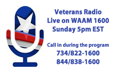 WAAM Live on Sundays Veterans Radio