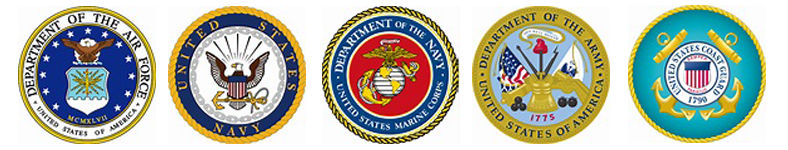 United States Armed Services Logos